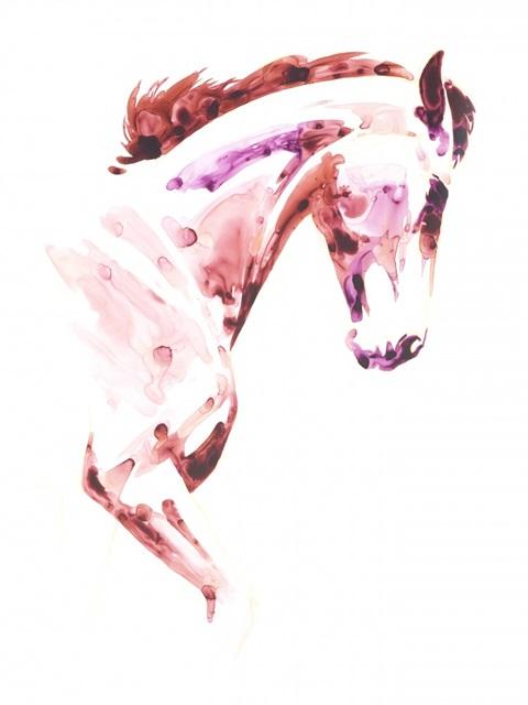 Garnet Horse I