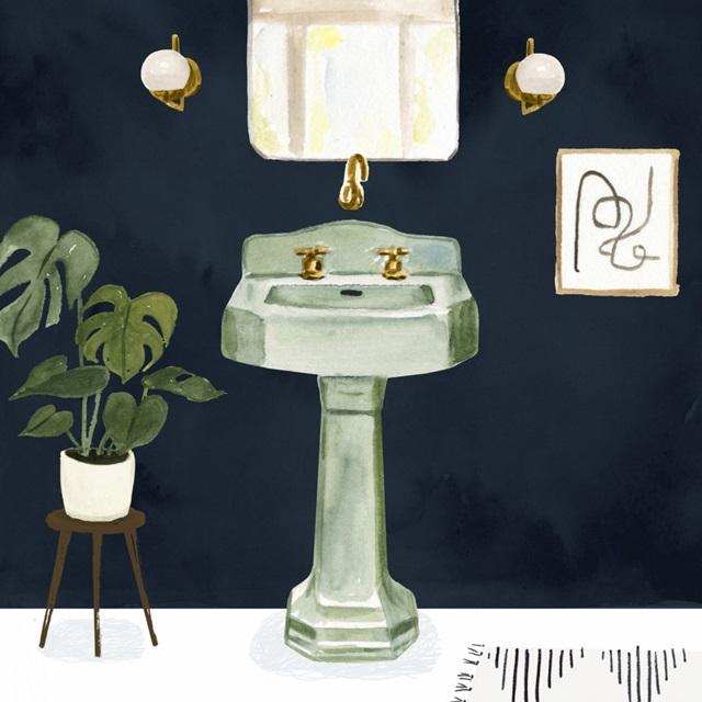 Boho Bath Sinks II