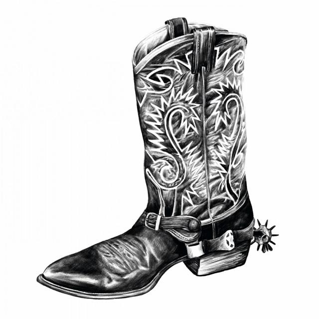 Vintage Cowboy I