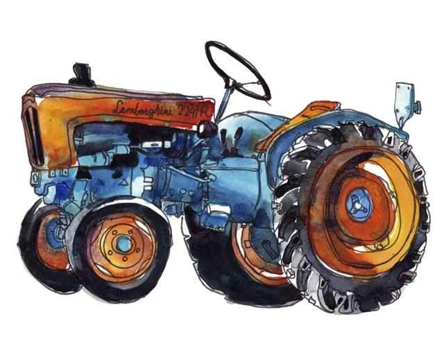 Tractor Study II