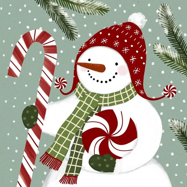 Peppermint Snowman II