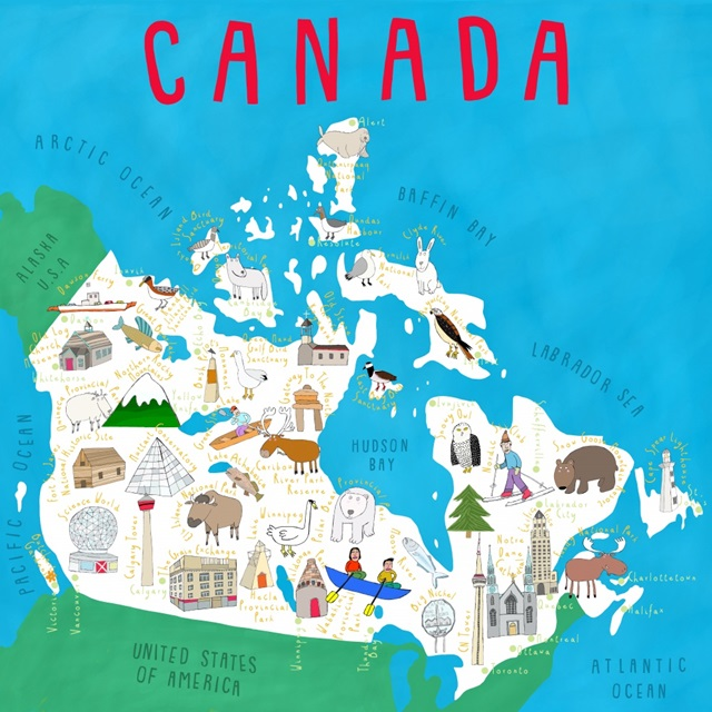Illustrated Countries Canada