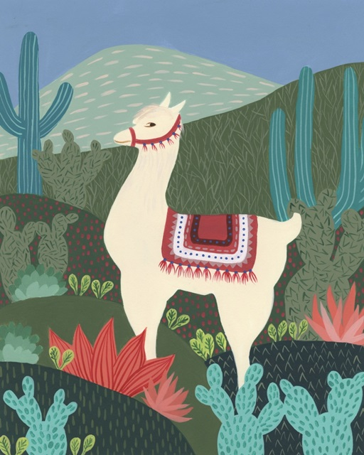 Desert Llama II