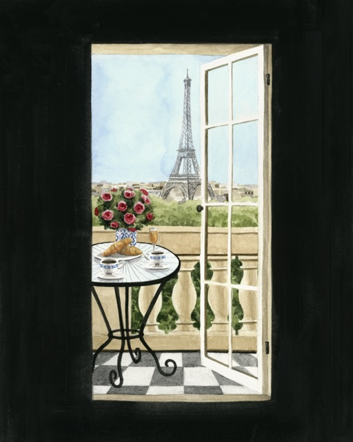 Terrace in Paris II