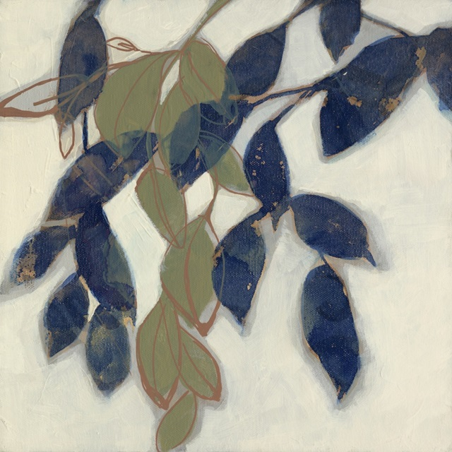 Entwined Leaves I