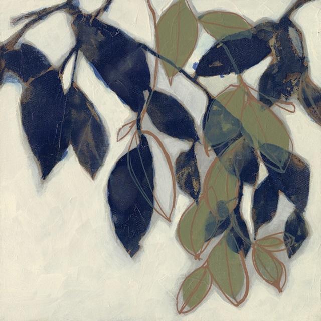 Entwined Leaves II
