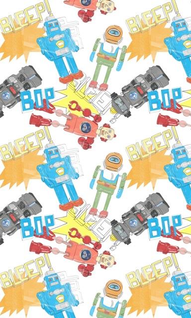 Toy Tin Robots Collection E