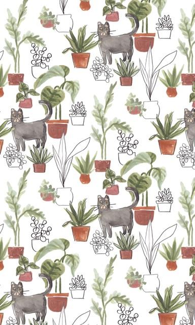 Purrfect Plants Collection E