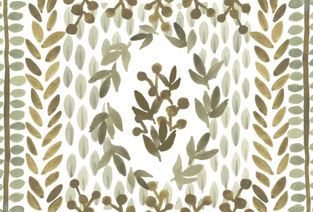 Greenery Motif Collection A