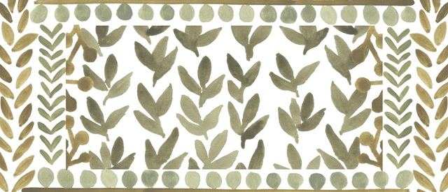 Greenery Motif Collection D