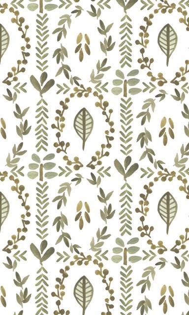 Greenery Motif Collection E