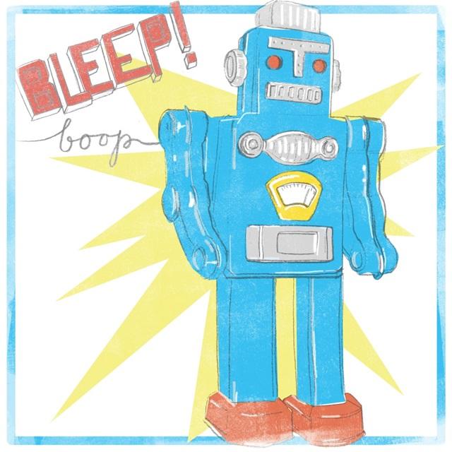 Toy Tin Robots III