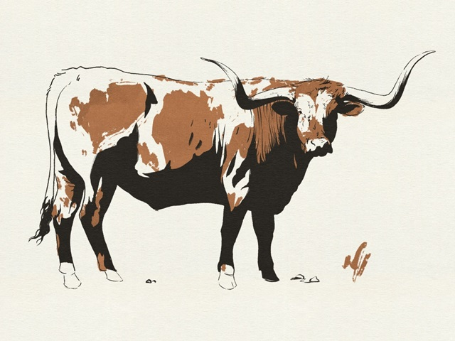 Terre Cotta Steer I