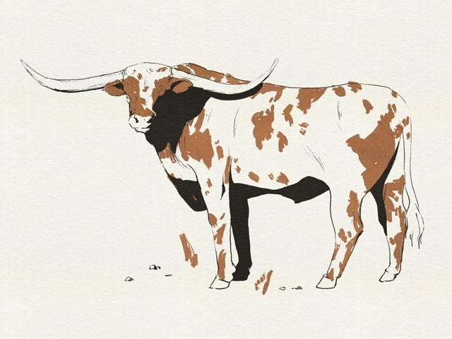 Terre Cotta Steer II