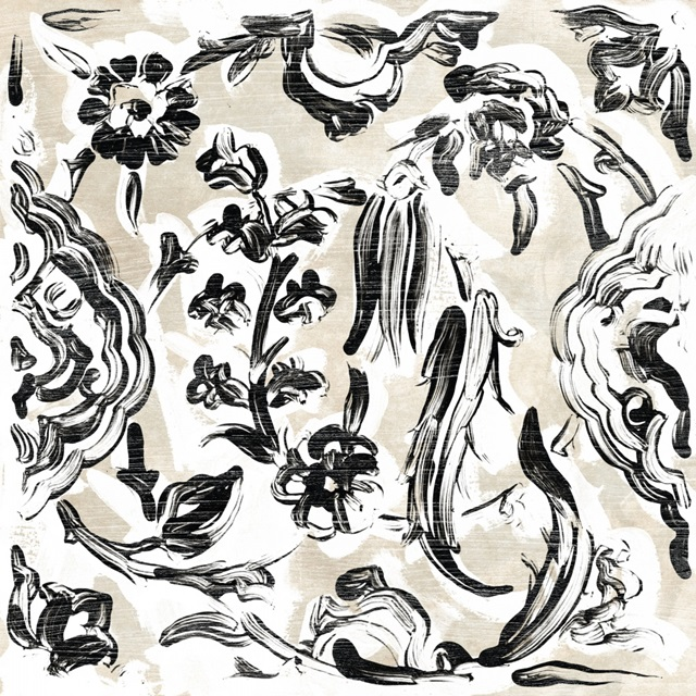 Parchment Brocade VIII
