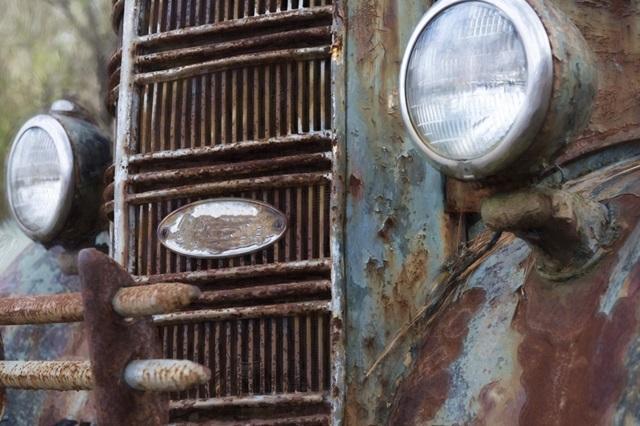 Blue n Rust