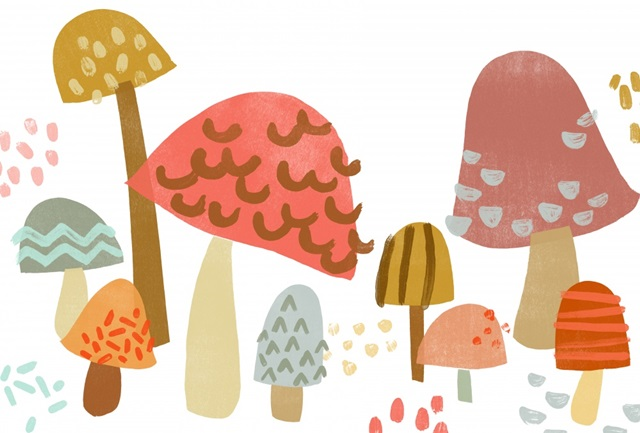 Cupcake Mushrooms Collection A