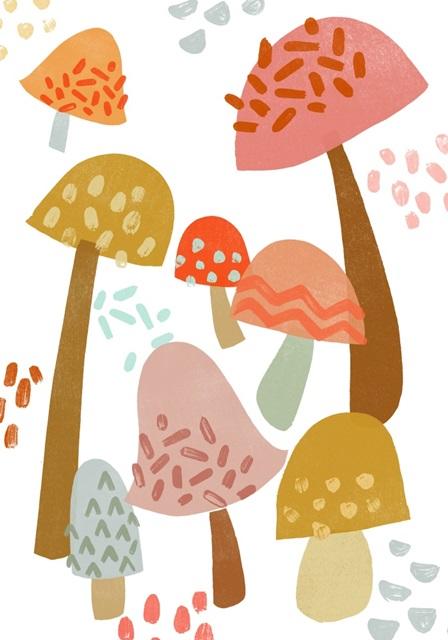 Cupcake Mushrooms Collection B
