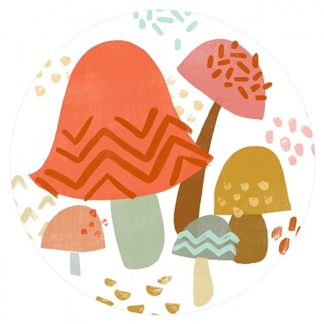 Cupcake Mushrooms Collection C
