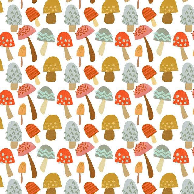 Cupcake Mushrooms Collection F