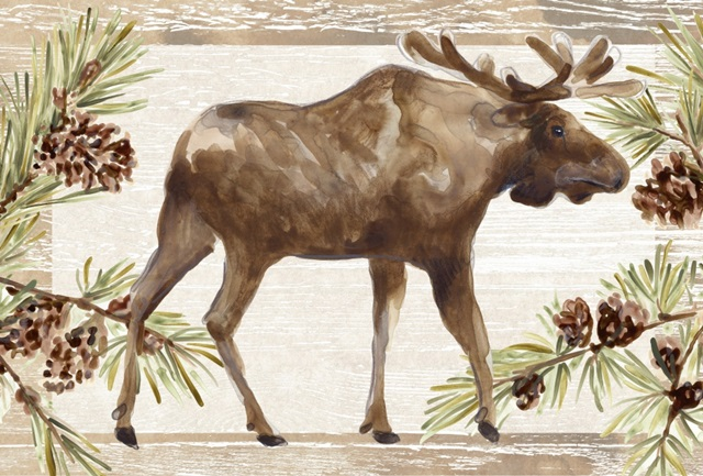 Rustic Barnwood Animals Collection A