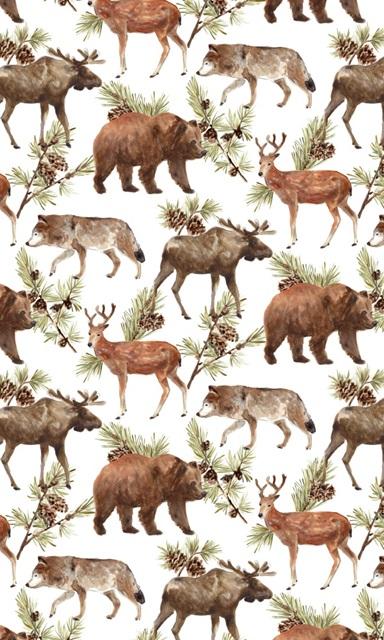 Rustic Barnwood Animals Collection E