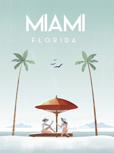 Illustrated Miami Beach II