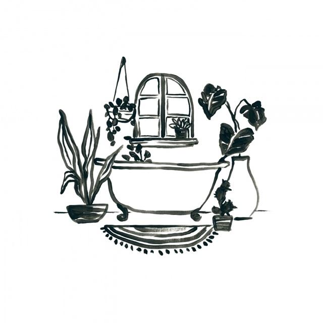 Parisian Bath Sketches I
