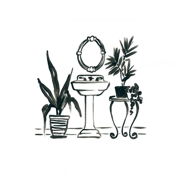 Parisian Bath Sketches II