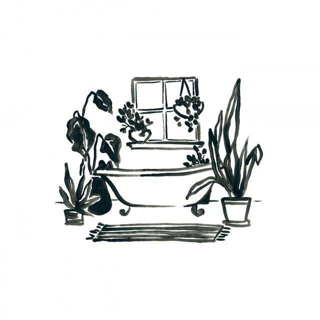 Parisian Bath Sketches IV