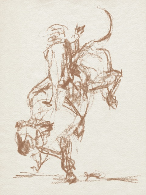 Rodeo Gestures in Sepia II