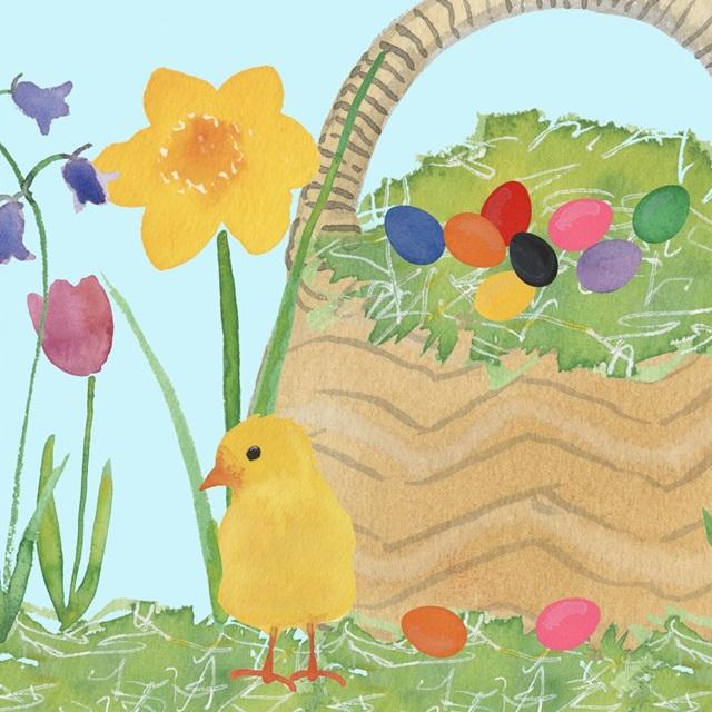 Easter Basket Time I