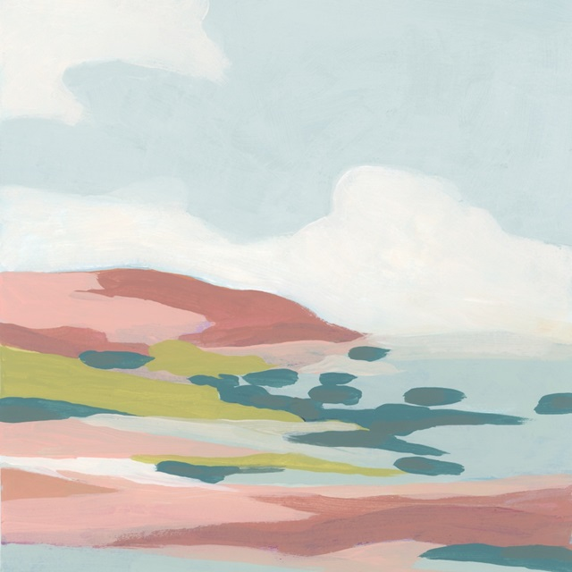 Colorful Coast I