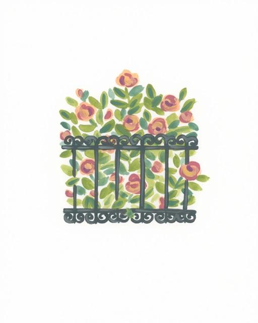 Wrought Iron Garden IV