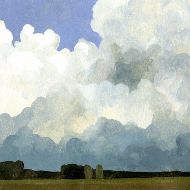 Blue Cumulus I