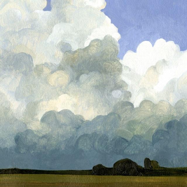 Blue Cumulus II