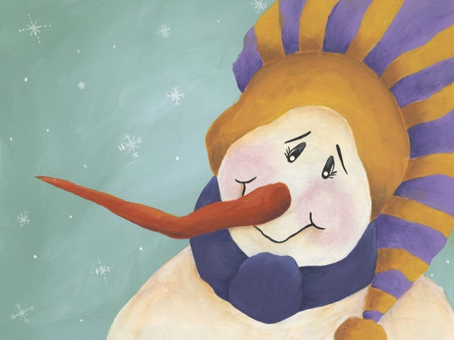 Carrot Nose Snowman I