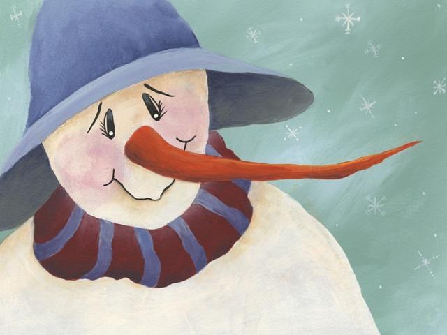 Carrot Nose Snowman II
